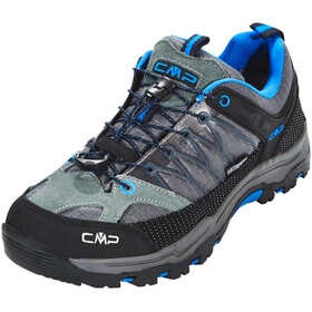CMP Campagnolo Junior Rigel Low WP Trekking Shoes Grey-Zaffiro